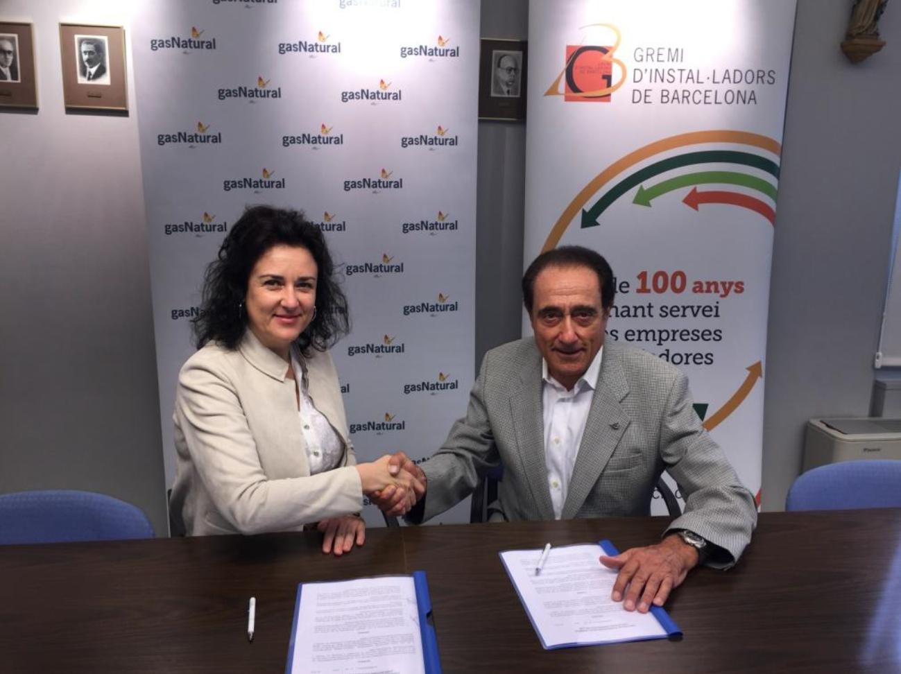 Conveni de col laboracio entre gremibcn i gas natural for Conveni col lectiu d oficines i despatxos