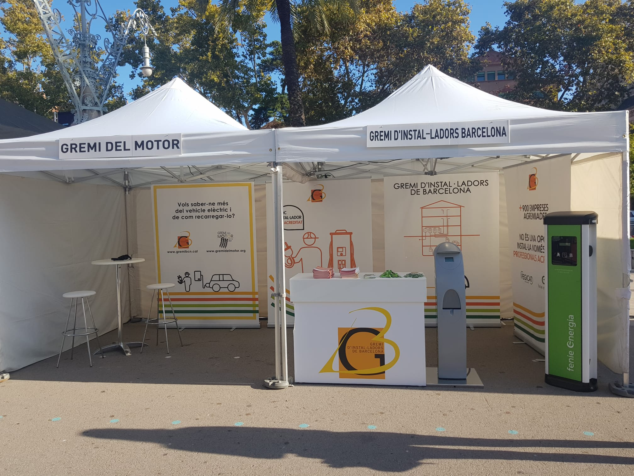 Expoelectric 2019 stand